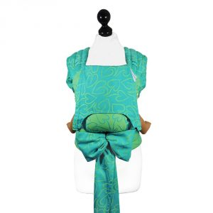 mei tai Fly tai babysize Amors Love Arrows -green