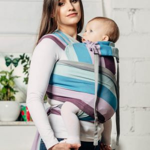 Μαρσιπος mei tai Wrap tai carrier Lennylamb mini icelandic diamond