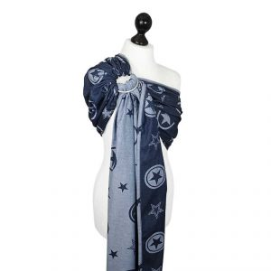 fidella ring sling outer space blue