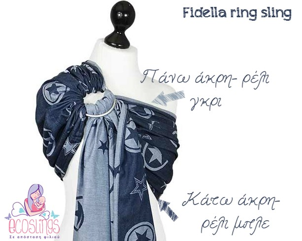 fidella ring sling outer space blue 6