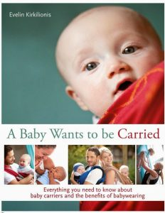A baby wants to be carried book