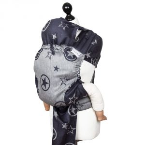 Fly tai toddler size Outer Space -blue hemp 2