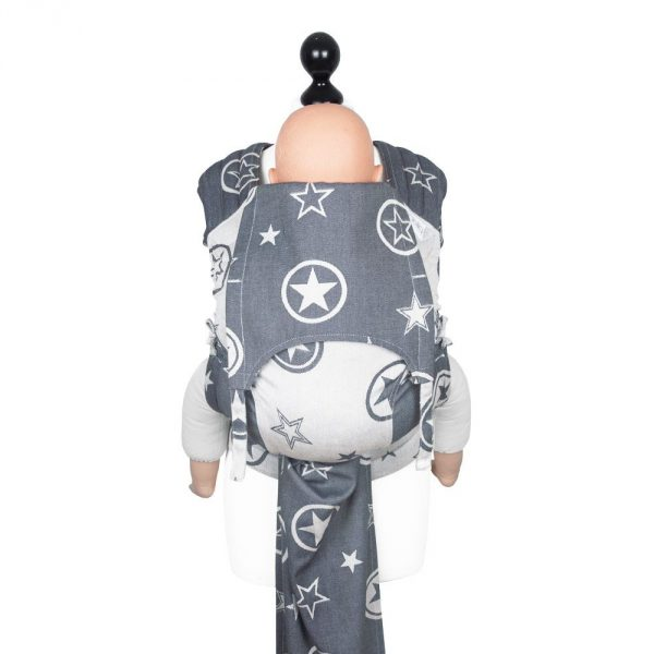 Fly tai toddler size Outer Space raw denim soy 4