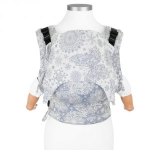Fusion carrier babysize Iced Butterfly - light blue