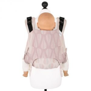 Fidella onbuhimo V2 back carrier - drops pinkish sand