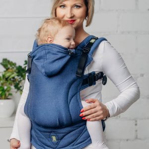 basic line ergonomic carrier babysize cobalt