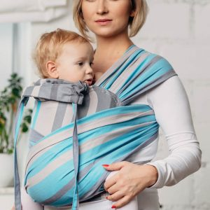 wrap tai lennylamb misty morning mini