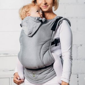 basic line ergonomic carrier Lennylamb toddler size calcite