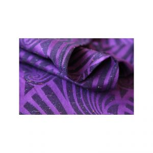 Υφαντό wrap Yaro slings dandy purple black Tencel confetti