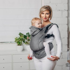 Basic line ergonomic carrier Lennylamb babysize-Graphite
