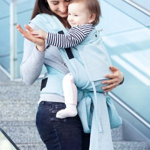 limas plus baby carrier turkis