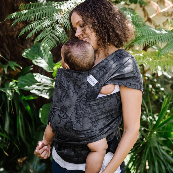 Fidella FlyClick Plus Baby carrier-Persian Paisley charming black