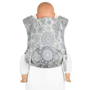 Fidella FlyClick Plus Baby carrier-Iced Butterfly smoke