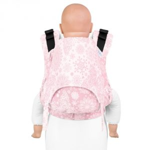 Fusion 2 full buckle carrier -iced butterfly pale pink toddler size