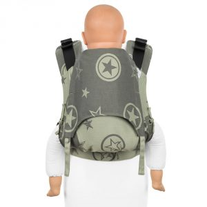 Fusion 2 full buckle carrier -outer space reed green toddler size