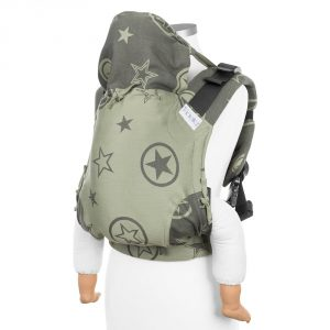 Fusion 2 full buckle carrier -outer space reed green toddler size 1