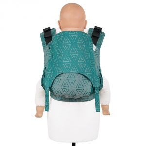 Fusion 2 full buckle carrier -paperclips vintage vibes toddler size