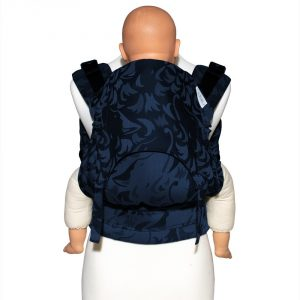 Fusion 2 full buckle carrier -wolf royal blue toddler size