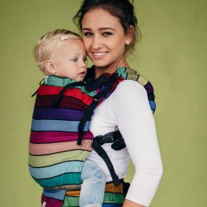 LennyUp carrier wrap carousel of colours