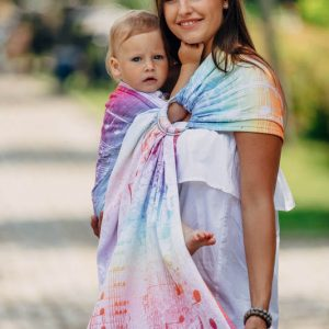 Ring sling lennylamb SYMPHONY RAINBOW LIGHT