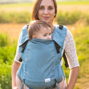 Lenka 4ever babycarrier -blue 1