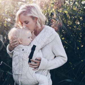 Limas Plus Baby Carrier -Valerie Linen